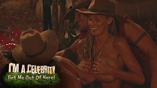 Jordan's Boob Slip Caused By Peter | I'm A Celebrity...Get Me Out Of Here!