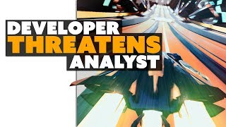 Developer THREATENS Tech Analyst? Strap In, Folks - The Know Game News