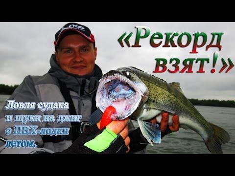 ловля рыбалка судака на джиг