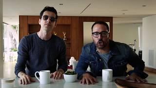 Max Amini and Jeremy Piven - Miami Promo