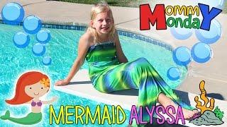 Mermaid Swimming Fail & Halloween Costumes || Mommy Monday