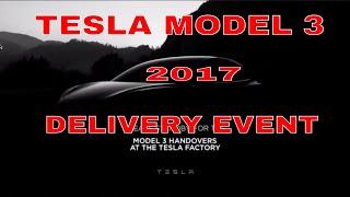Tesla Model 3 Delivery & Handover Event 2017