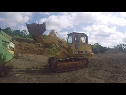 Making gravel for the new barn.