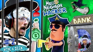 HELLO NEIGHBOR COPS & ROBBERS! FGTEEV Hide N Seek #2 (GRANNY watches Marts