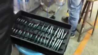 The Making Of AUTOart Pagani Zonda R carbon fibre body imitation