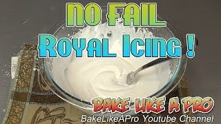 Easy Royal Icing Recipe ! - Official Wilton Royal Icing Recipe