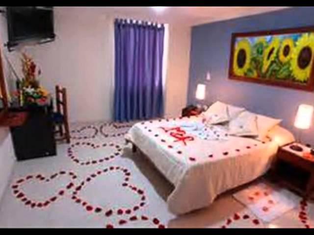 Decoracion romantica sencilla for Ideas noche romantica