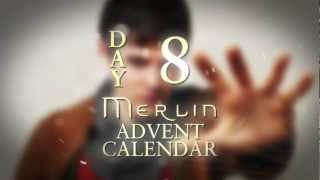 Colin Morgan spills the beans on Bradley James | Day 8 | Merlin Advent Calendar