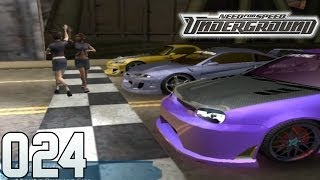 NEED FOR SPEED UNDERGROUND Part 24 - Die rosa Rache (HD) / Lets Play NFSU