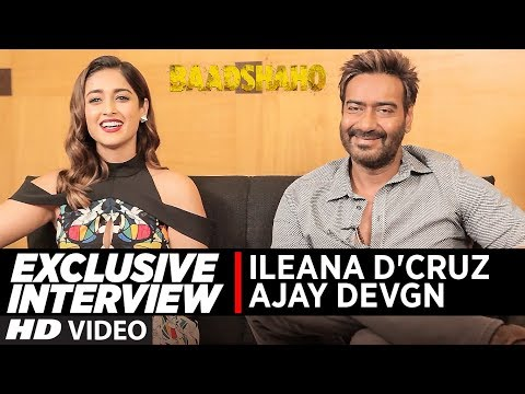Exclusive Interview with Ajay Devgn & Ileana D'Cruz | Baadshaho | T-Series