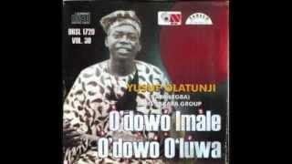 YUSUF OLATUNJI  - Mejejo Nio Bunmi Oba Oluwa