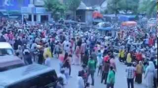 irwan pulang kampung di sambut  gembira oleh jutaan orang sumenep