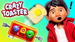 MR TOASTER Game Coco Miguel Plays Puppy Dog Pals And Meatball Madness Game