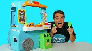 Laugh & Learn Servin Up Fun Food Truck ! || Toy Review || Konas2002
