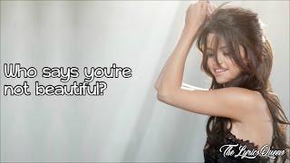 Selena Gomez & The Scene - Who Says [Lyrics] HD
