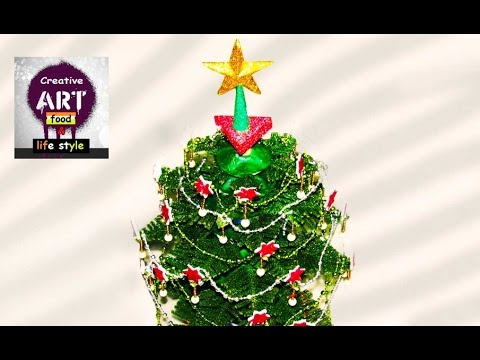 How to make Christmas tree | DIY | Bio Christmas decoration | Art with Creativity