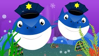 Police Shark vs Scary Flying Shark | Videos for kids Songs