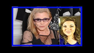 Breaking News | Hollywood horror! carrie fisher threatened movie exec over ual harassment