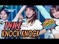 Download Lagu [HOT] TWICE - KNOCK KNOCK, 트와이스 - KNOCK KNOCK Show Music core 20170318