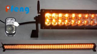 New amber/ white strobe LED light bar