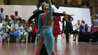 SADF South African Open Dance Championships 2014 - Adult Championship dancers