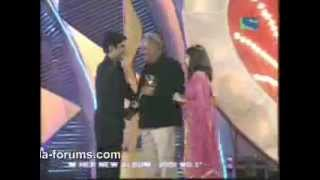 Rajeev and Aamna getting debut  Indian Telly Award 2003