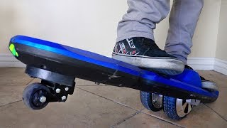 WEIRD NEW HOVERBOARD?!! (3 wheels)