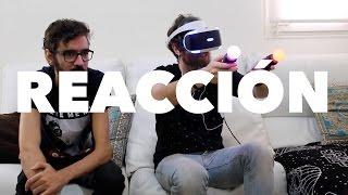 NO QUIERO VER | Probando las gafas de Realidad Virtual de Playstation
