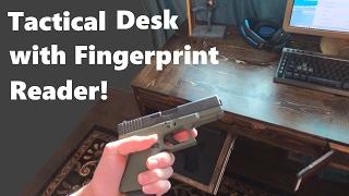 Tactical Desk: Secret Gun Compartment in Desk!