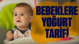 Bebekler İçin Yoğurt Tarifi (6+ Aylık) | Çift Çizgi | Aslı Kızmaz 👶🍼