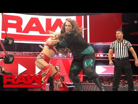 "Xxx Mp4 Nia Jax And Alexa Bliss Go To New ""Extremes"" Raw July 9 2018 3gp Sex"