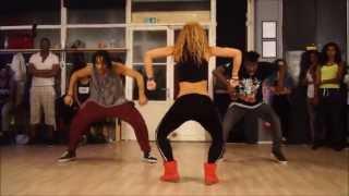 Wizard ft. Chedda & Nyanda- Like a Pro - New dancehall Choreo by Aya