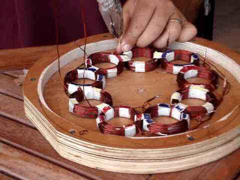 How to build a homemade stator for a P.M.A generator wind turbine hydroelectric