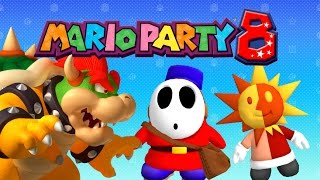 Bowser, Brighton, and Mail Shy Guy Playable in Mario Party 8 (+ Download)