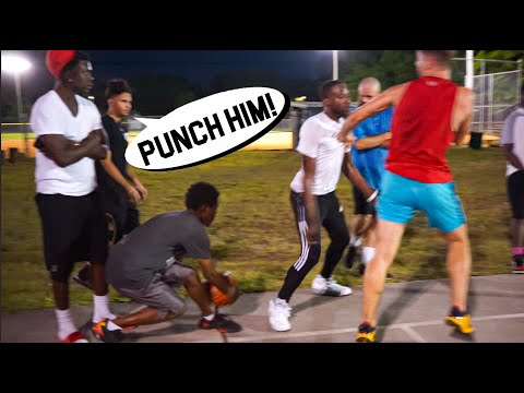 Trash Talkers Wanted To FIGHT 5v5 Basketball At The Park