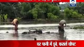 Flood situation in Kishanganj area of Bihar