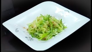 Fresh Cucumber Salad with lemon / Lemon Cucumber salad recipe
