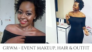 GRWM | Event Makeup, Hair and Outfit | OmogeMuRa