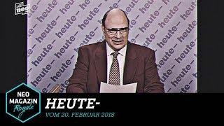 heute- vom 20. Februar 2018 | NEO MAGAZIN ROYALE mit Jan Böhmermann - ZDFneo