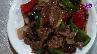 Cuisine Chinoise - Comment cuisiner un bœuf Sauté au poivre noir