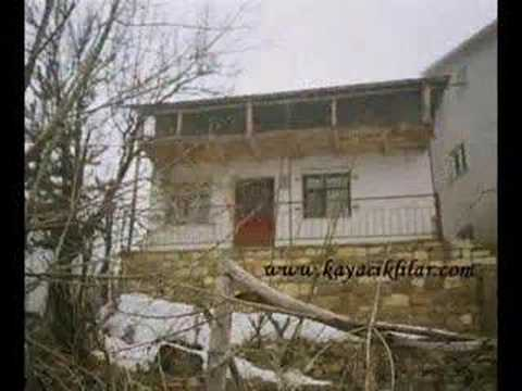 kayacık köyünün evleri