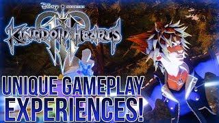 Kingdom Hearts 3 - Unique World Specific Gameplay Experiences!