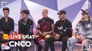 MYX Live Chat with CNCO