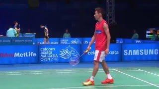 Celcom Axiata Malaysia Open 2016 | Badminton SF M5-MS | Jan O Jorgensen vs Lee Chong Wei