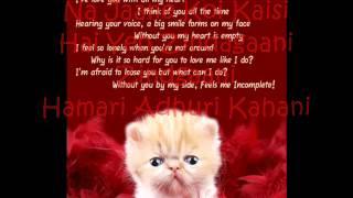 Bheegi Bheegi (Gangster) with lyrics