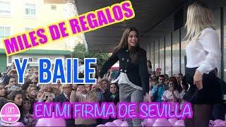 MILES DE REGALOS🎁 Y BAILE💃 EN MI FIRMA DE SEVILLA/ 2ª FIRMA DE LIBROS /LA DIVERSION DE MARTINA