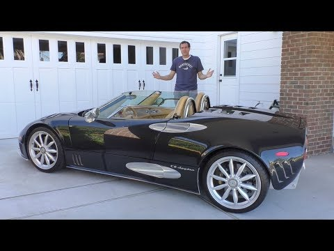 The Spyker C8 Is the Quirkiest 250 000 Exotic Car in History