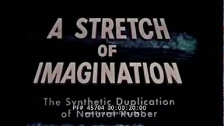 "SYNTHETIC MANUFACTURE OF NATURAL RUBBER  ""STRETCH OF IMAGINATION""  LATEX RUBBER 45704"