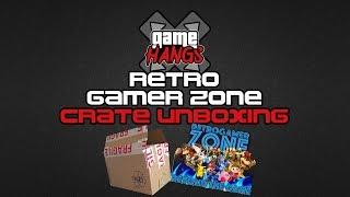 Retro Gamer Zone Crate Unboxing | GameHangs