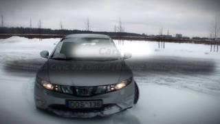 Honda Civic and Hyundai Sonata Winter Fun